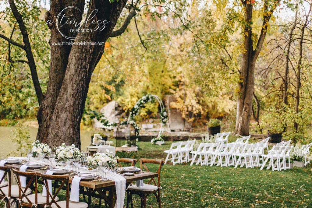 montreal outdoor wedding venue cafe lhorloge