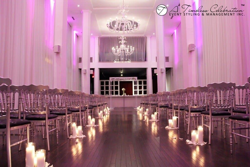 montreal wedding ceremony reception decoration loft hotel