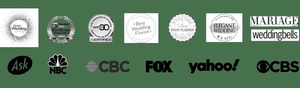 expert montreal wedding florist in the media