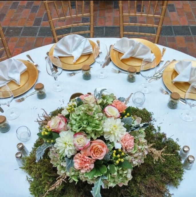 Montreal+Enchanted+Garden+Theme+Wedding+Flowers+Decorations+La+ruelle+InterContinental+Hotel