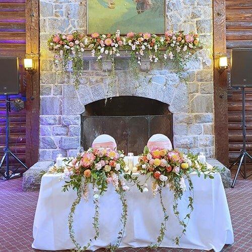 fairmont+chateau+montebello+summer+peonies+wedding