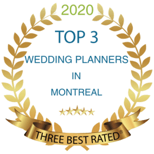top 3 wedding planners in montreal