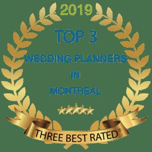 top 3 best wedding planner montreal
