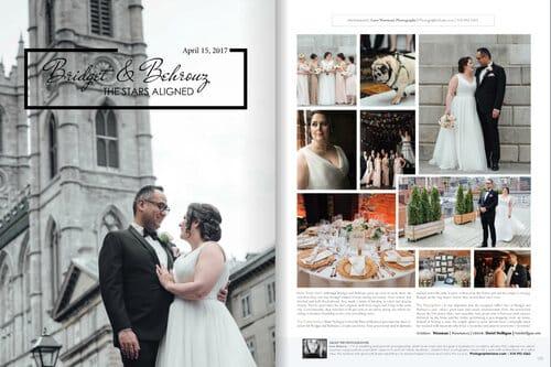 elegant wedding magazine featured florist