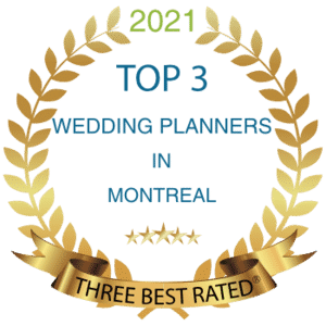 top 3 best wedding planner in montreal 3 years in a row