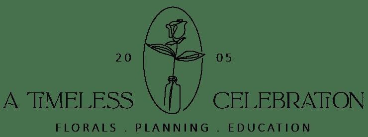 a timeless celebration logo