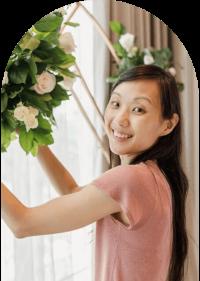 caryn lim wedding floral designer